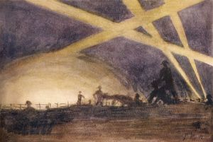 WW1/C 1916/SHADOWS SKY