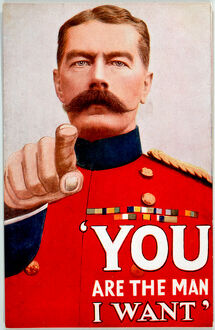 WW1 KITCHENER RECRUITING