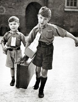 Young Evacuees