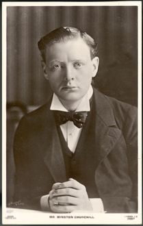 YOUNG MR CHURCHILL