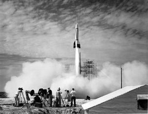 Bumper V-2 Launch