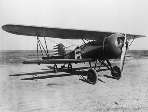 Curtiss Hawk with NACA Cowling