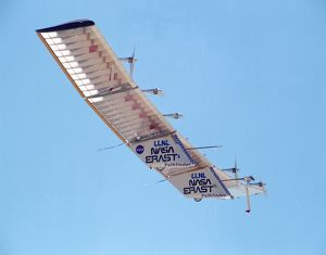 Pathfinder Aircraft in Flight
