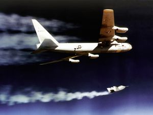 X-24A Powered Flight Drop from B-52
