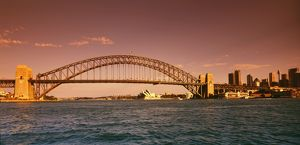 AUSTRALIA - New South Wales, Sydney Harbour bridge and Sydney Op