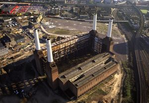 Battersea Power Station, an unused coal-fired power