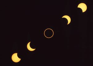 Annular Eclipse - 10th May 1994