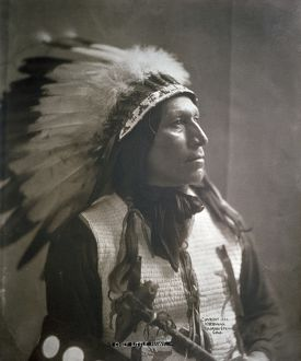 Chief Lttle Hawk photo 1904 - North American Indian
