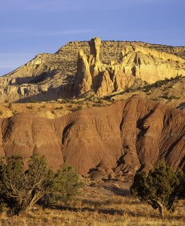 FG-CD-87 Dinosaur geology: Sedimentary sequence at Ghost Ranch, New Mexico