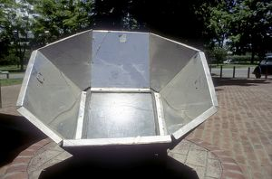 Solar Cooking Furnace