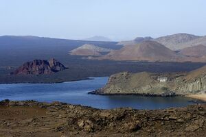 View across the Galapagos Islands
