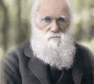 1879 Charles Darwin colour photograph