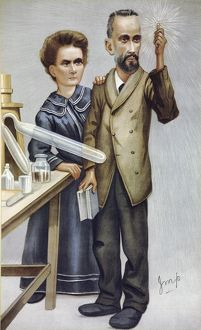 Discovery of radium by the Curies, 1898