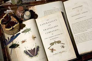 Early naturalist collecting guide books