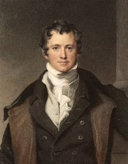 Sir Humphry Davy portrait chemis