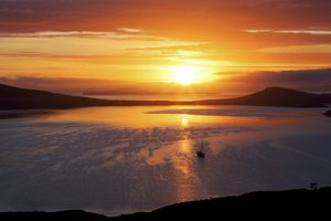 Sunrise, Falkland Islands