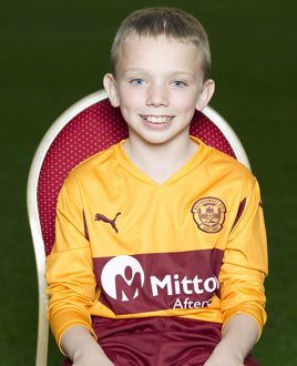08/09/10 - 10090806 - MOTHERWELL F.C. FIR PARK - MOTHERWELL. Josh Hall