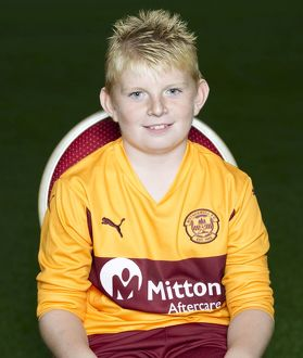 08/09/10 - 10090806 - MOTHERWELL F.C. FIR PARK - MOTHERWELL. Darren McLeish