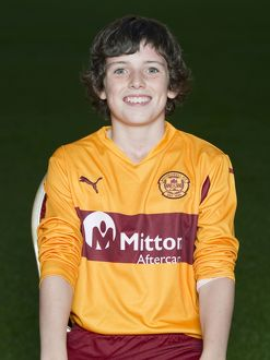 08/09/10 - 10090806 - MOTHERWELL F.C. FIR PARK - MOTHERWELL. Adam Livingston