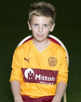 08/09/10 - 10090806 - MOTHERWELL F.C. FIR PARK - MOTHERWELL. Bradley Nicklin