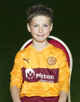 08/09/10 - 10090806 - MOTHERWELL F.C. FIR PARK - MOTHERWELL. Dillon McLaughlin