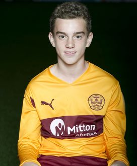 08/09/10 - 10090806 - MOTHERWELL F.C. FIR PARK - MOTHERWELL. Luke Watt
