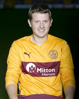 08/09/10 - 10090806 - MOTHERWELL F.C. FIR PARK - MOTHERWELL. Ross Tough