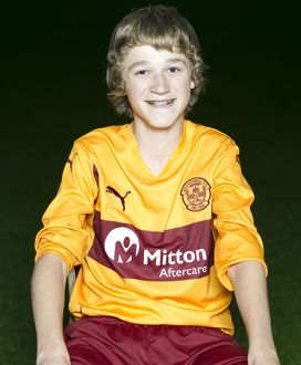08/09/10 - 10090806 - MOTHERWELL F.C. FIR PARK - MOTHERWELL. David Ferguson