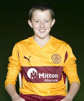 08/09/10 - 10090806 - MOTHERWELL F.C. FIR PARK - MOTHERWELL. Callum Galloway