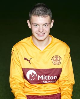 08/09/10 - 10090806 - MOTHERWELL F.C. FIR PARK - MOTHERWELL. William Balfour