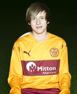 08/09/10 - 10090806 - MOTHERWELL F.C. FIR PARK - MOTHERWELL. Liam Allison