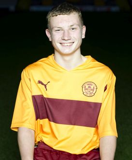08/09/10 - 10090806 - MOTHERWELL F.C. FIR PARK - MOTHERWELL. Keith Glen