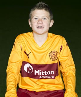 08/09/10 - 10090806 - MOTHERWELL F.C. FIR PARK - MOTHERWELL. Dominic Thomas