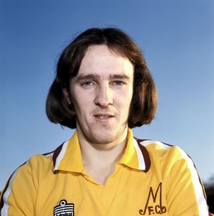 1977/1978. Motherwell's Willie Pettigrew