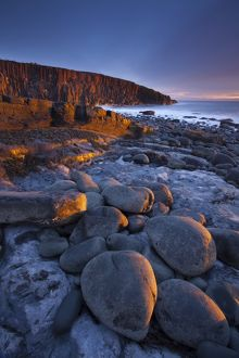 England, Northumberland, Cullernose Point.