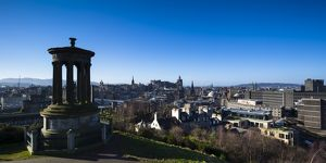 Scotland, Edinburgh, Calton Hill.