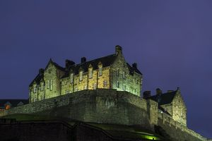 Scotland, Edinburgh, Edinburgh Castle.