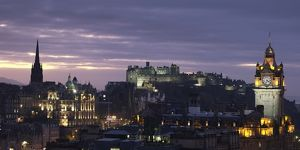 Scotland, Edinburgh, Edinburgh Skyline.