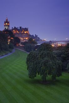 Scotland, Edinburgh, Princes Street Gardens.