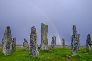 Scotland, The Isle of Lewis, Callanish Stone Circle