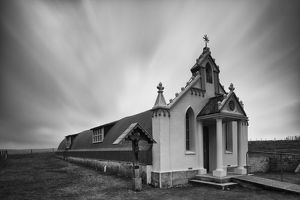 Scotland, Orkney Islands, Italian Chapel.