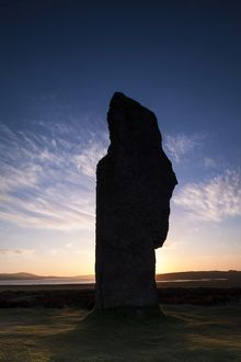 Scotland, Orkney Islands, The Ring of Brodgar.