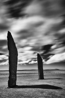 Scotland, Orkney Islands, Standing Stones of Stenness.