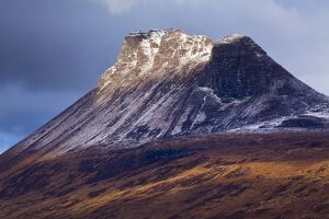 Scotland, Scottish Highlands, Assynt. Stac Pollaidh (also know as 'Stack Polly')