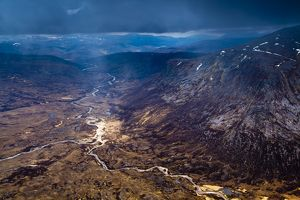 Scotland, Scottish Highlands, Cairngorms National Park. Glen Geusachan