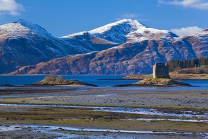 Scotland, Scottish Highlands, Castle Stalker