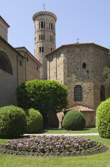 The 5th century Battistera Neoniana, UNESCO World Heritage Site, Ravenna