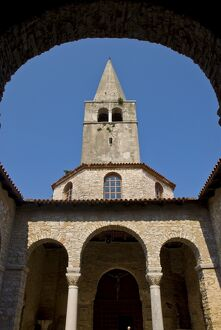 The 6th century Euphrasian Basilica, UNESCO World Heritage Site, Porec