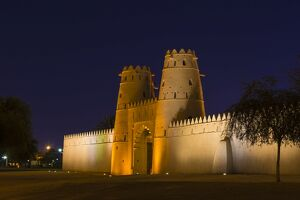 al jahili fort night al ain unesco world heritage
