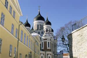 Alexander Nevsky Christian cathedral, the Old Town, Tallinn, UNESCO World Heritage Site
